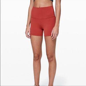 Lululemon Align Shorts - cayenne
